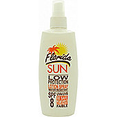 Florida Sun SPF8 Low Protection Lotion Spray 200ml