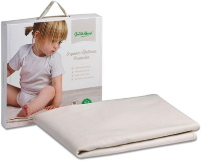 The Little Green Sheep Organic Cot Bed Mattress Protector 70x140cm