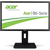 Acer Professional B246HLymdr (24 inch) Full HD LED Backlit Monitor (Dark Grey)