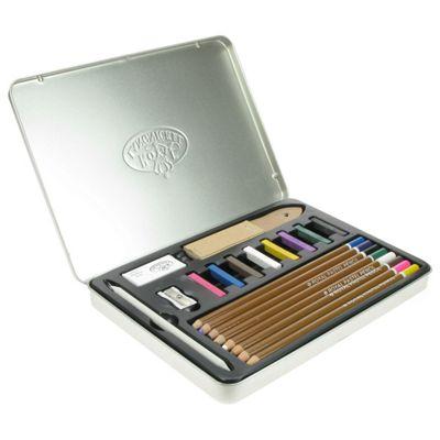 Royal Tin Sets - Pastel Pencil