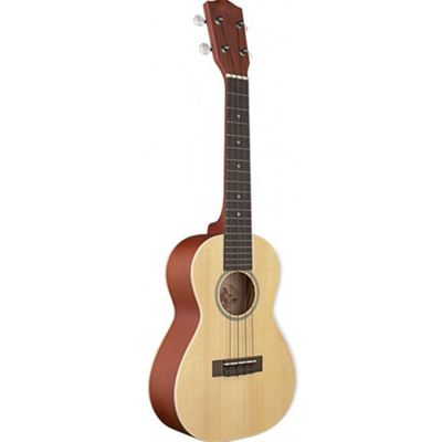 Stagg UC60-S Concert Ukulele Solid Spruce Top inc Bag