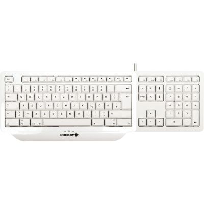 Cherry G82-2702 Initial for Mac USB Wired Keyboard (White)
