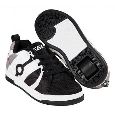 Heelys Repel Black/Charcoal/White Kids Heely Shoe JNR 12