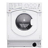 Hotpoint Aquarius Integrated BHWD 129 (UK)/1 6.5kg, 1200rpm Washer Dryer - White