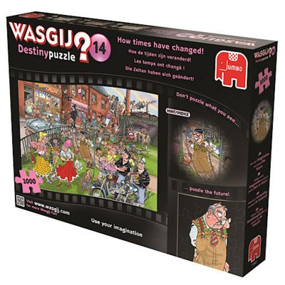 Wasgij Destiny Puzzle 14 - How Times Have Changed 1000 Pieces