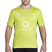 Canterbury Ireland Rugby Superlight Poly Tee 17/18- Lime Punch - Green