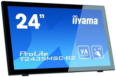 iiyama PROLITE T2435MSC-B2 24 Full HD 75Hz Desktop Capacitive Touch-Screen Monitor