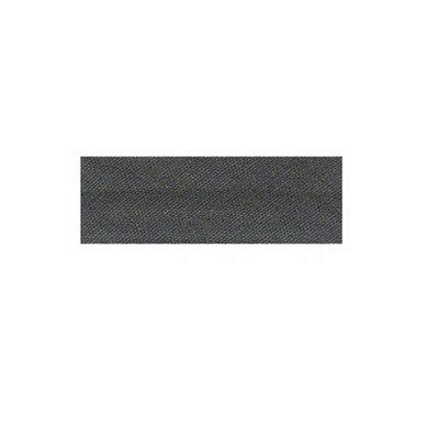 Essential Trimmings Polycotton Bias Binding, 2.5m x 25mm, Silver Grey