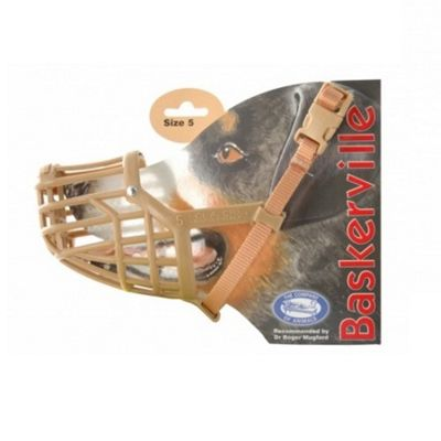 Baskerville Dog Muzzle (Size 5) - Corgi