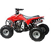 Hawkmoto 110cc Storm Trooper 4 stroke Quad Bike Red W/ Reverse