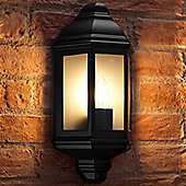 Auraglow Traditional Outdoor Wall Light - Soulbury - Black