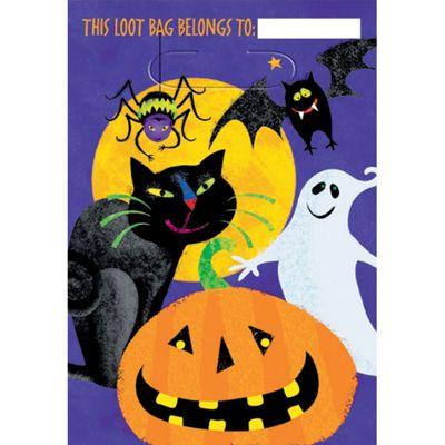 Party Bags Plastic Party Bag (8pk)