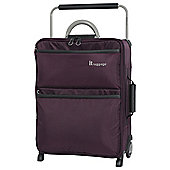 it luggage Worlds Lightest 2 Wheel Purple/Grey Cabin Suitcase