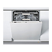 Whirlpool WIO3043DLS 14 Place Built In White Dishwasher