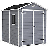 Keter Manor Plastic Shed, 6x8ft