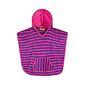 Mountain Warehouse Sandy Kids Beach Cape - Pink