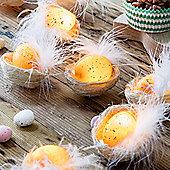 10 Easter Egg Nest Battery Micro LED Fairy Lights