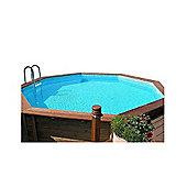 Doughboy Octagonal Wooden Pool 5.3m