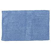 Hygro Cotton Blue Reversible Bath Mat