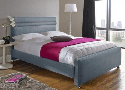 Snug City Single Duck Upholstered Bed Frame, Oxford Design Made In the UK
