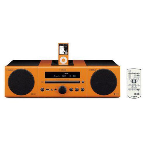 Yamaha AV Desktop Audio System Orange