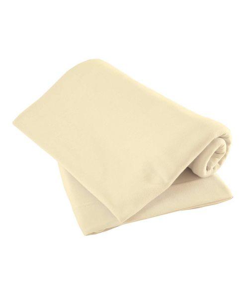 Mamas & Papas - Waterproof Fitted Sheet- Cream