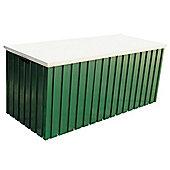 6ft x 2ft Premier Green Metal Storage Box (1.68m x 0.68m)