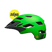 Bell Sidetrack Youth Mips Helmet Green/Grey