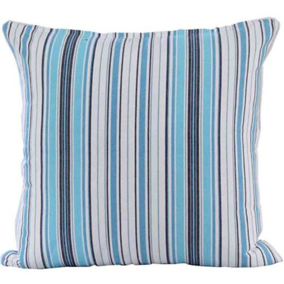 Homescapes Cotton New England Stripe Cushion Cover, 60 x 60 cm