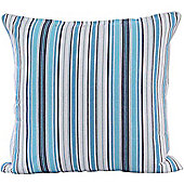 Homescapes Cotton New England Stripe Scatter Cushion, 60 x 60 cm