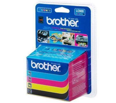 Brother LC900 Inkjet Cartridge Black/Magenta/Yellow/Cyan