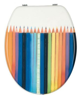 Wenko Crayons Toilet Seat