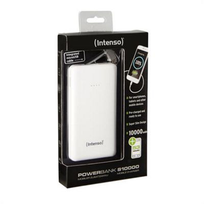 Intenso S10000 Mobile charger - ultra slim design 10000 mAh 5.0V 2.1A (fast