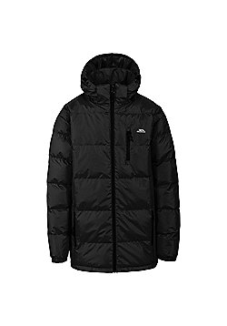 Trespass Mens Clip Padded Jacket Red 3XL - Black