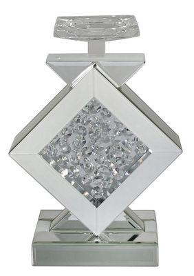 Astoria White Diamond Candle Holder