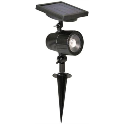 Luxform Cannes Solar Spot Light - Black