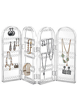 Beautify Foldable Acrylic Earring Jewellery Stand