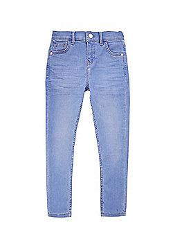 F&F Skinny Fit Jeans - Blue