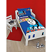Thomas the Tank Engine Team 4 in 1 Junior Bedding Bundle (Duvet + Pillow + Covers)