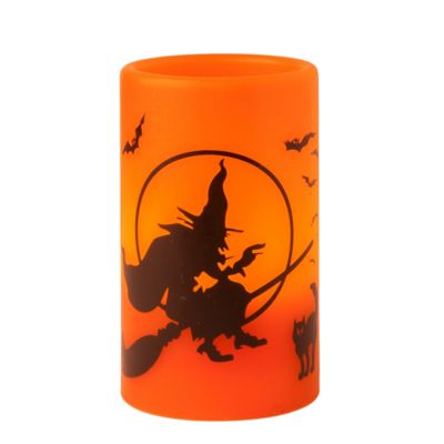 Witch Halloween Battery Candle