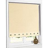 Hamilton Mcbride Aurora Square Eyelet Cream Blind - 90x165cm