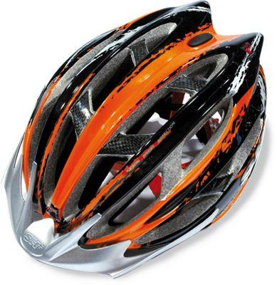 SH+ Zeuss MTB Helmet: Orange L/XL.