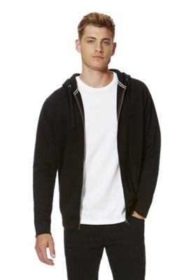 F&F Zip-Through Hoodie with As New Technology XL Black
