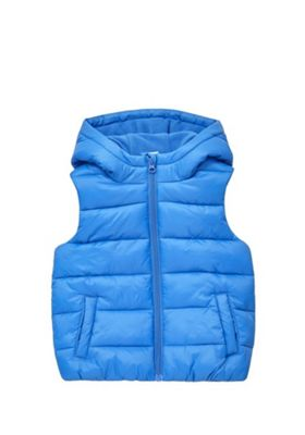 F&F Hooded Padded Gilet Blue 4-5 years