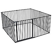 Safetots Dog Pet Pen Black 144 x 144 cm