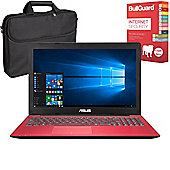 "ASUS X553SA-XX236T 15.6"" Laptop Intel Pentium N3700 8GB 1TB with Internet Security & Case"