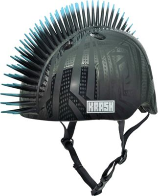 Krash Black Gator Kids Helmet