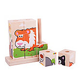 Bigjigs Toys Stacking Blocks (Pets)