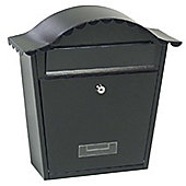Traditional Post Box Black (2)