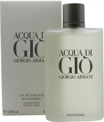 Giorgio Armani Acqua Di Gio Eau de Toilette (EDT) 200ml Spray For Men